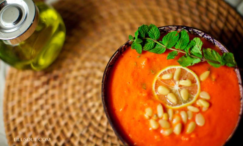 Божественный морковный крем-суп